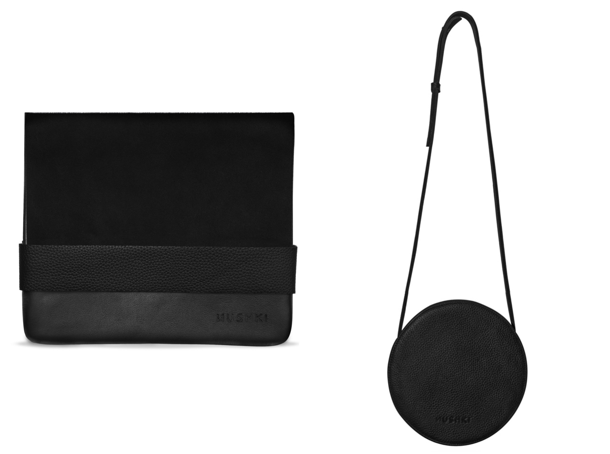 nushki ethical leather bag