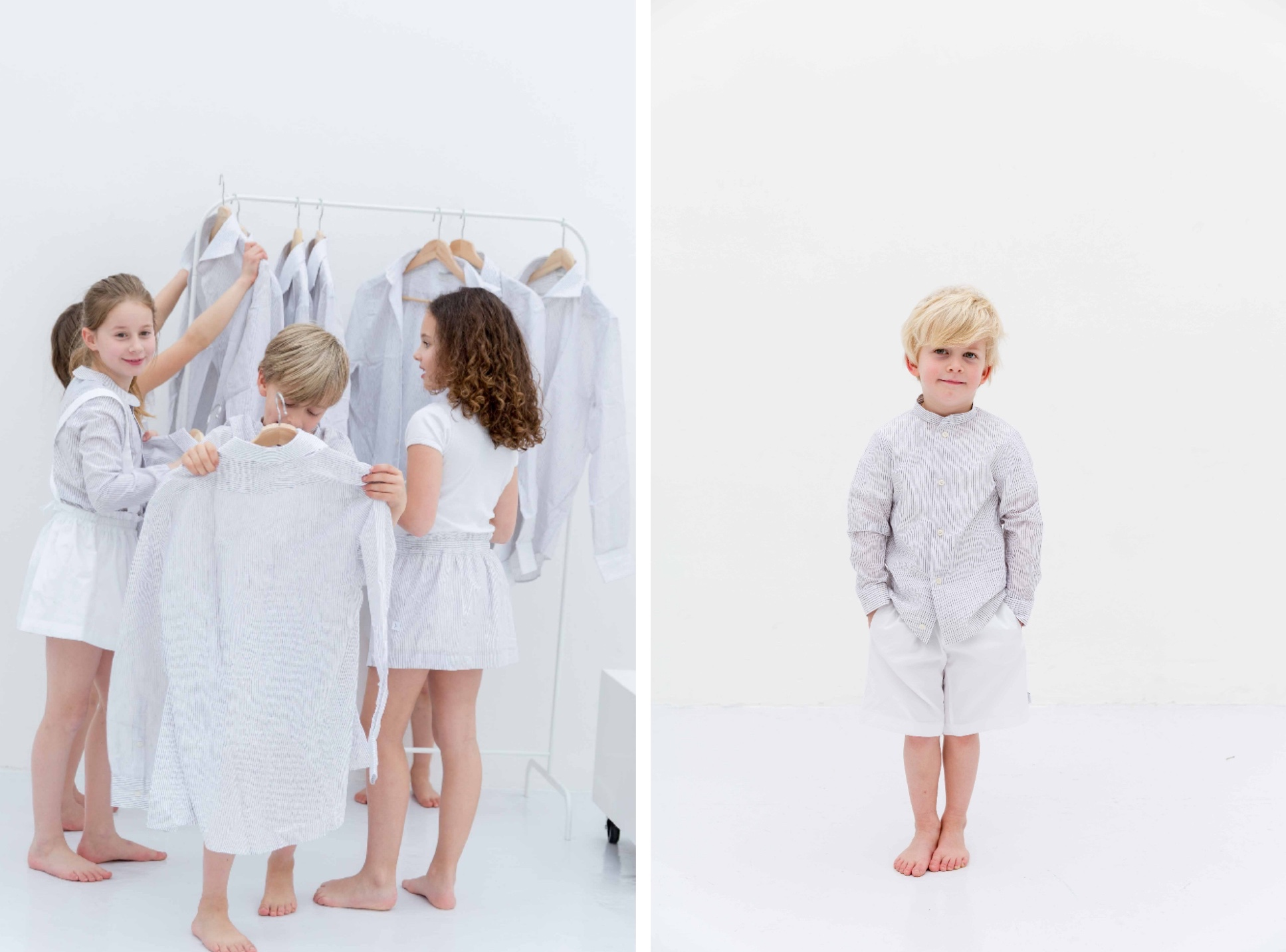 Little Boomerang´s Kids Collection Made From Surplus Shirts