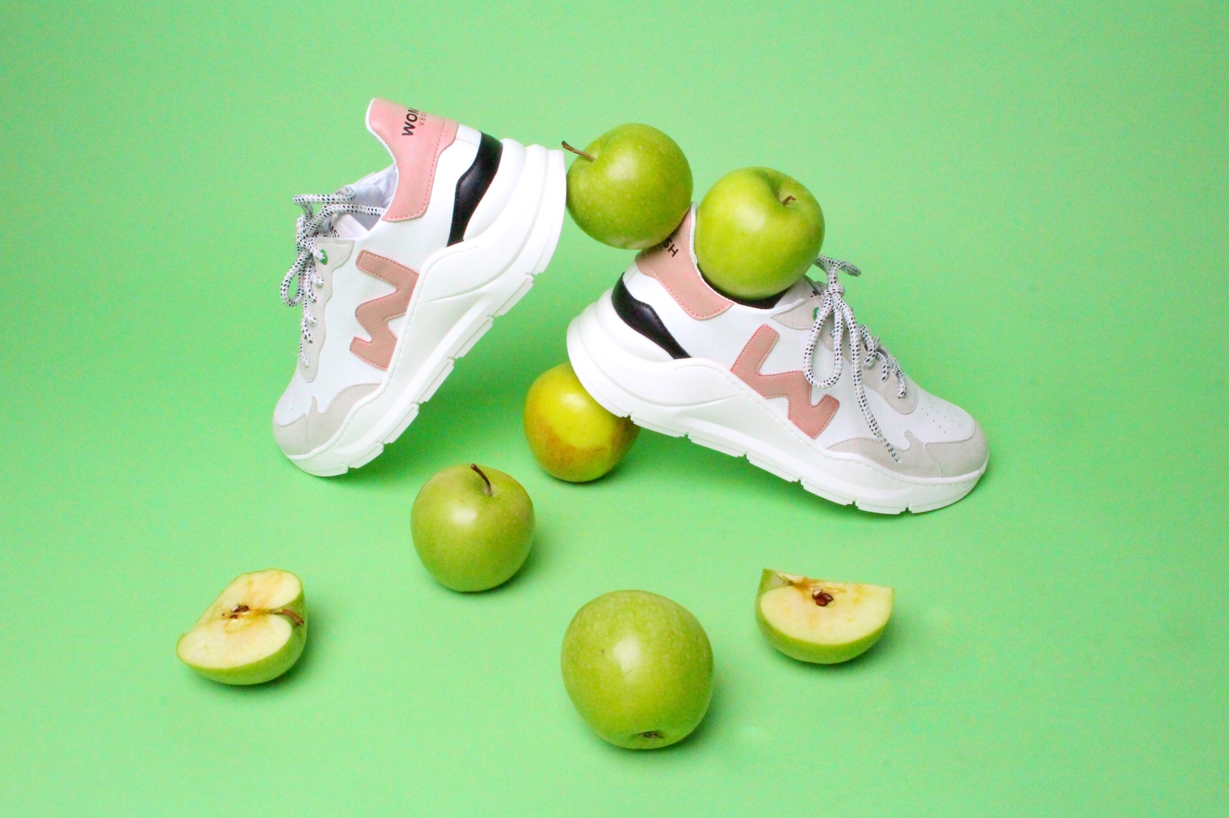 Sustainable Sneakers Brand Introduces Vegan Line Made From Apple