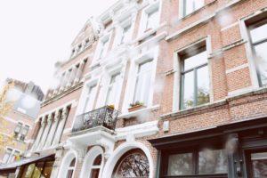 Antwerp streets architecture