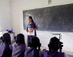 menstrual health education India